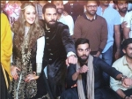 Indian Cricket Team Attends Yuvraj Singh Hazel Keech Mehendi Ceremony