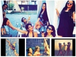 Kishwer Merchant Girl Gang Sizzle Bikini Goa Kishwer Bachelorette Party Pics