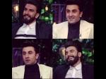 Ranbir Kapoor Ranveer Singh Hilarious Moments Koffee With Karan Season