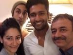 Ranbir Kapoor Photobombing Rajkumar Hirani S Birthday Picture