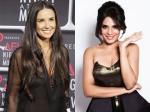 Richa Chadha Meets Demi Moore In Los Angeles During A Shoot