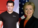 Salman Khan Supports Hillary Clinton For President Of The Usa