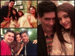Shahrukh Gauri Aishwarya Rai New Inside Pictures Bachchan Diwali Bash
