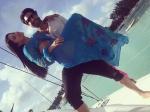 Daniel Weber Sweeps Sunny Leone Off Her Feet In Mauritius