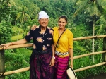 Lisa Ray Holidays In Bali Indonesia