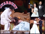 Aishwarya Rai Bachchan Touches Amitabh Bachchan Feet Stardust Awards Other Picture With Srk Abhishek