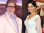 Amitabh Bachchan Sunny Leone Lead In Hottest Vegetarian Celebrity Contest