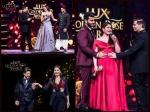 Arjun Kapoor Held Kareena Kapoor Khan Baby Bump Inside Pictures Lux Golden Rose Award