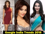 Disha Patani Urvashi Rautela Top Bollywood Actresses 2016 Google Trends