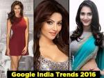 Disha Patani Urvashi Rautela Top Bollywood Actresses 2016 Google Trends