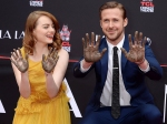 Emma Stone And Ryan Gosling Left Permanent Mark On Hollywood With Hand Prints