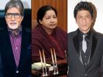 Jayalalithaa Death Shahrukh Khan Amitabh Bachchan Offer Condolences