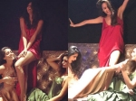 Lisa Haydon And Gabriella Demetriades Christmas Themed Photoshoot