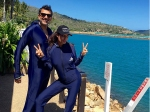 Lisa Haydon Holidays In The One And Only Hayman Island With Husband Dino Lalvani