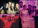 New Inside Pics Aishwarya Rai Bachchan With Srk Madhuri Katrina At Manish Malhotra Bash