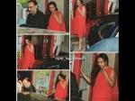 Rani Mukerji Aditya Chopra Spotted At A Party Sans Baby Adira Latest Pictures
