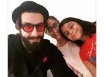 Ranveer Singh Clicks A Selfie With Sushmita Sens Daughters Renee And Alisah