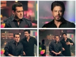 Sultan Salman Khan Meets Raees Shahrukh Khan On Bigg Boss 10 Promo