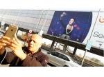 Billboard Happiness Mahesh Bhatt Takes A Selfie Of Alia Bhatt Taking A Selfie