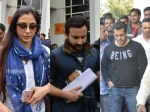 Blackbuck Pocahing Case Salman Khan Saif Ali Khan Tabu Arrive At Jodhpur Court
