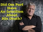 Did Om Puri Have An Intuition About His Death His Last Interview Hints So