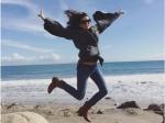 Evelyn Sharma Feels Like A Bird In Los Angeles Beach