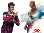 Footballer Neymar Jr As New Xxx In Vin Diesel S Return As Xander Cage
