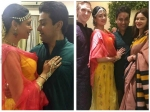 Kavita Kaushik Glowing At Her Haldi Ceremony Aashka Goradia Attend Pics