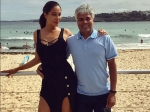 Lisa Haydon Wishes Her Father Mr Venkat A Happy Birthday And Calls Him A Legend