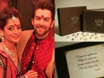 Here Is A Glimpse Of Neil Nitin Mukesh S Wedding Invite