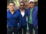 Salman Khan Spotted With Ajay Devgn On The Sets Of Baadshaho Picture