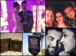 First Inside Pictures From Neil Nitin Mukesh Rukmini Sahay Pre Wedding Party