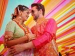 Neil Nitin Mukesh And Rukmini Sahay Engagement Sangeet Mehendi Pictures