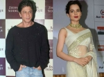 Kangana Ranaut Doesnt Want Work With Khans Shahrukh Khan Rejects Her