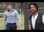 Sudeep And Darshan Support Mithra S Raaga