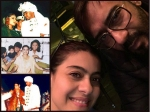Kajol Ajay Devgn Share A Romantic Click On Their Eighteenth Anniversary See Their Wedding Pictures