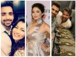 Zee Rishtey Awards Kumkum Bhagya Actors Sriti Shabbir Leena Others Shine 5 Awards After Party Pics
