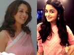 Getting Into Madhiri Dixit Shoes Is An Impossibe Task Says Alia Bhatt