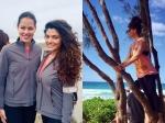 Saiyami Kher Holidays In Hawaii And Meets Tennis Star Ana Ivanovic