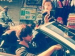 Shahrukh Khan Abram Car Ride Carter Road Mumbai Pictures