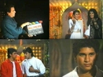 Rare Footage Salman And Aamir Gave Mahurat Shot For Andaz Apna Apna In Sachin Tendulkar S Presence