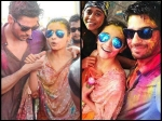 Alia Bhatt Sidharth Malhotra Spotted Playing Holi Together See Their Romantic Pictures