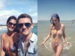 Hot Bikini Pics Bruna Abdullah Holidays In Brazil