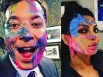 Its Crazy Here Is How Priyanka Chopra Celebrated Holi With Jimmy Fallon