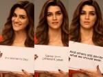 Kriti Sanon Calls Womens Day Happy Whatever