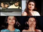 Rani Mukerji Meets Aishwarya Rai Bachchan Post Her Father Death No More Rivalry