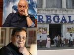 Anupam Kher Nimrat Kaur Shakti Kapoor And Many Celebs Walk Down Memory Lane On Regal Theatre