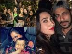 Salman Khan Iulia Vantur Party With Karisma Karan Malaika Arpita Ahil At Seema Khan Birthday Picture
