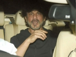 Shahrukh Khan Car Ran Over Photographer S Leg Spotted At Alia Bhatt Birthday Bash Pictures