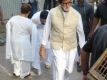 Bollywood Celebs Attend Vinod Khannas Last Rites
